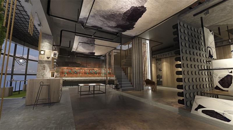 开 利 地 毯 展 厅 设 计 — — 展 厅 空 间 L O F T